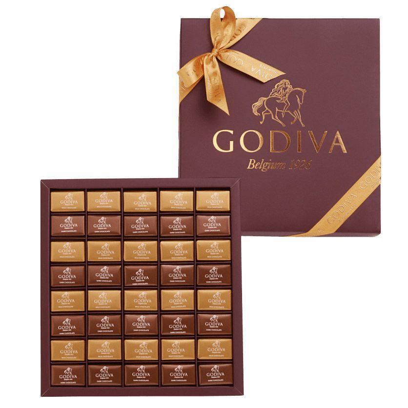 Godiva Kahverengi Napoliten - Çikolata Sepeti